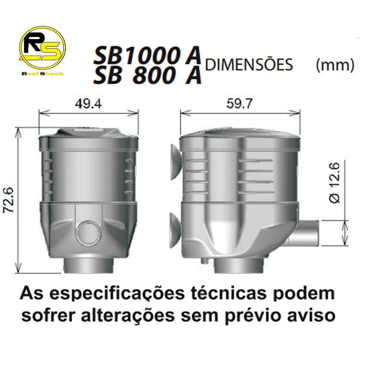 Bomba Submersa Sarlo Better 1000a 1000 L/h Sb1000a 110v ou 220v