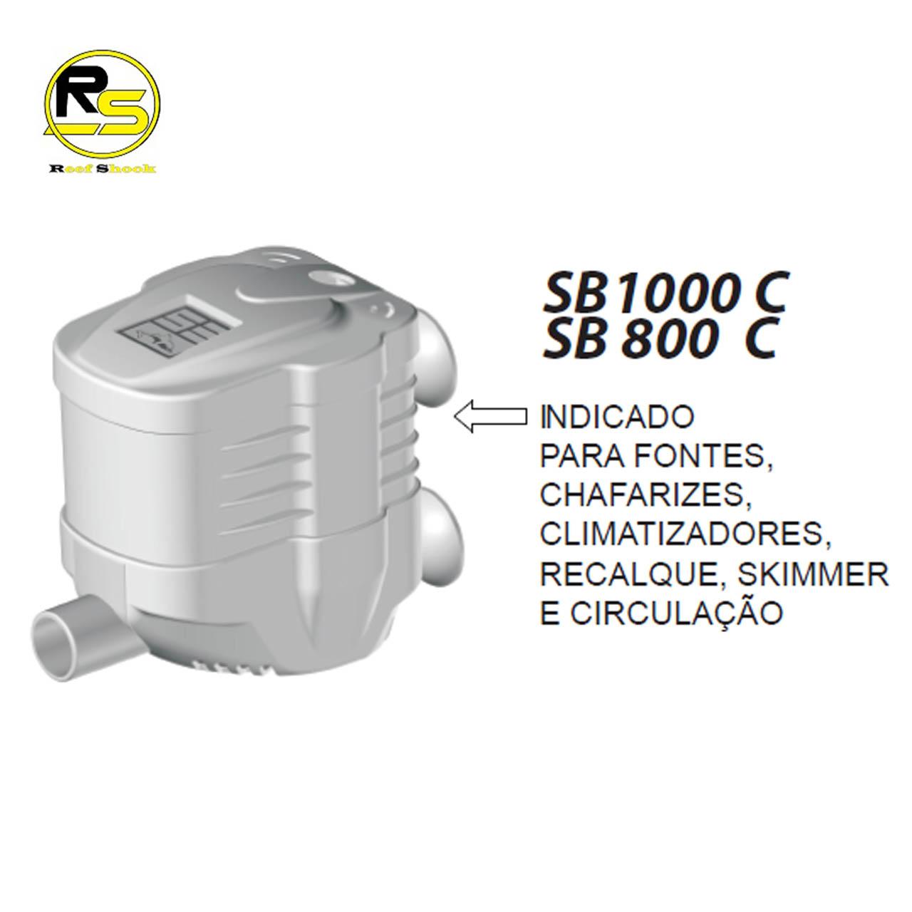 Bomba Submersa Sarlo Sb1000c 400 a 1000l/h 1000c 100V ou 220V