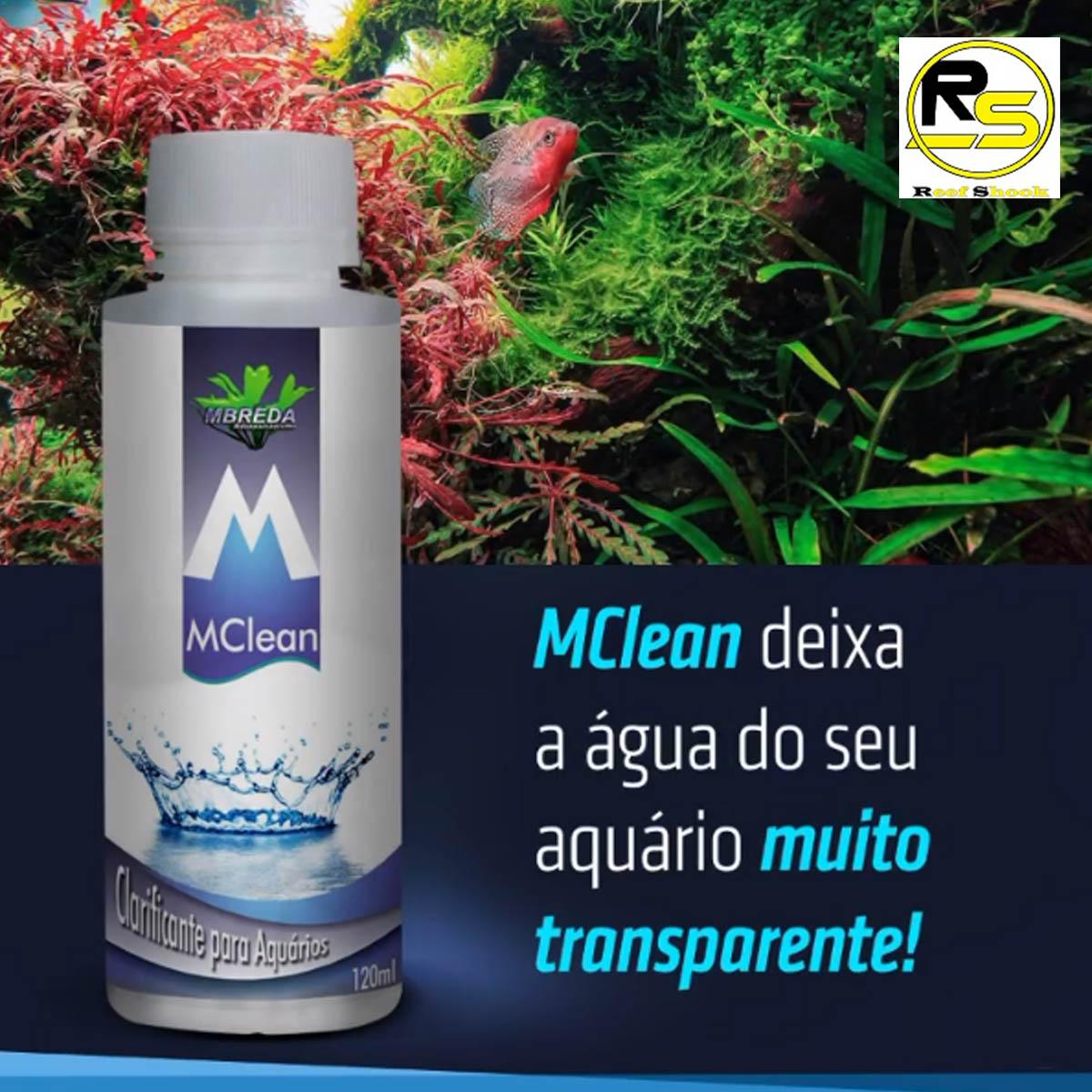 Clarificante Mclean Mbreda para Aquario 120ml
