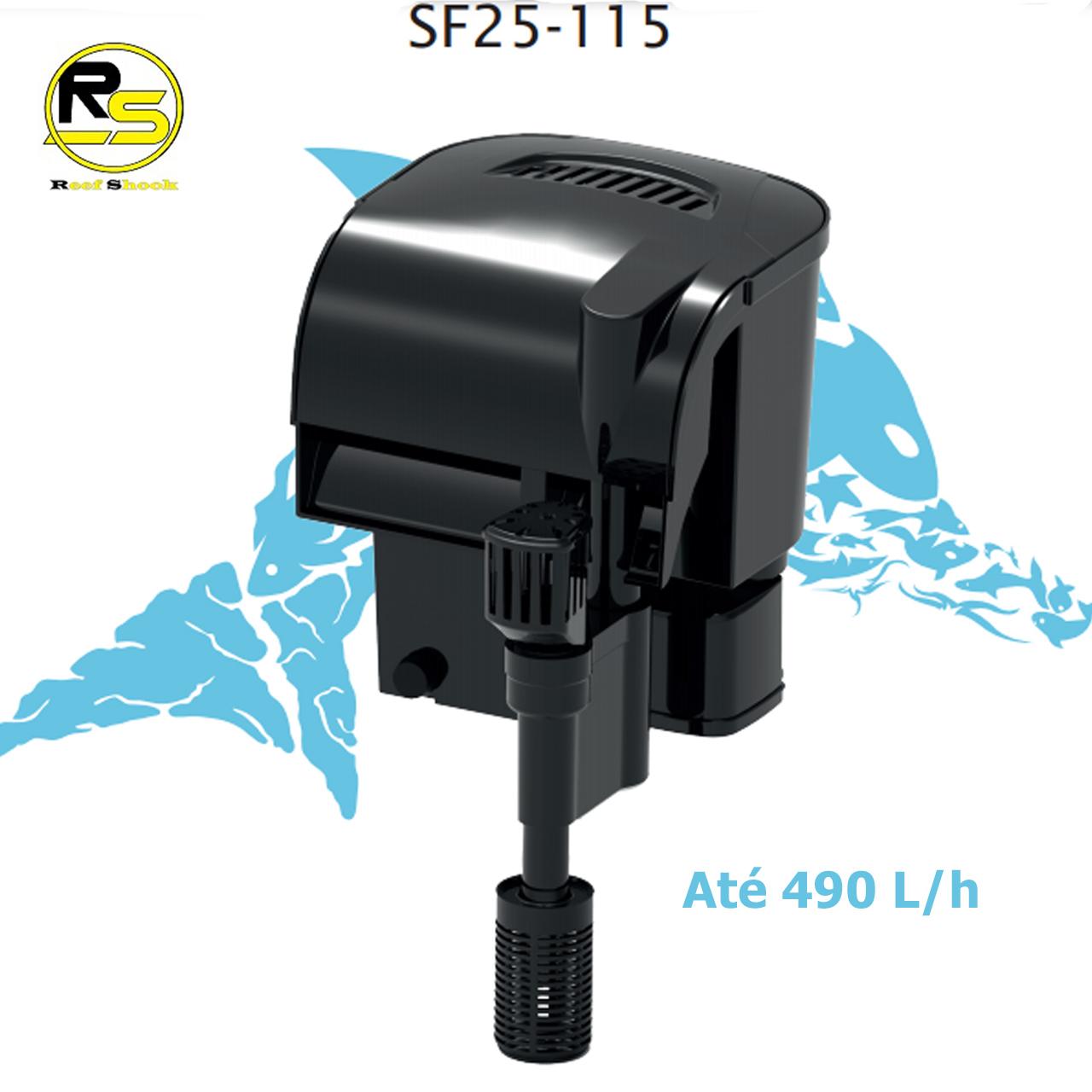 Filtro Externo Aquário Hang On Sf 25-115 Sarlo Better 490 Lh 110v ou 220v