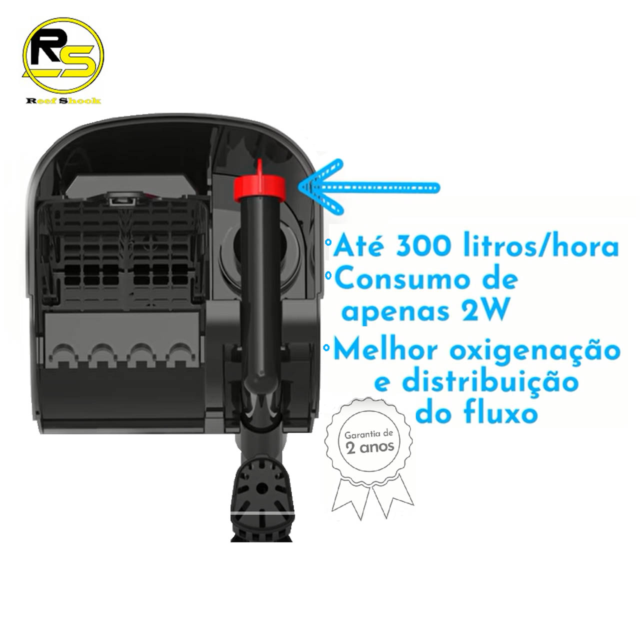 Filtro Externo Hang On Sarlo Better Sf15-75 Até 300l/h