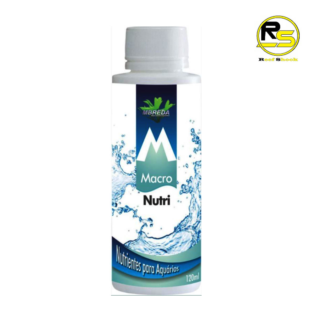 Macronutri Fertilizante Mbreda 120ml para Aquario Plantado