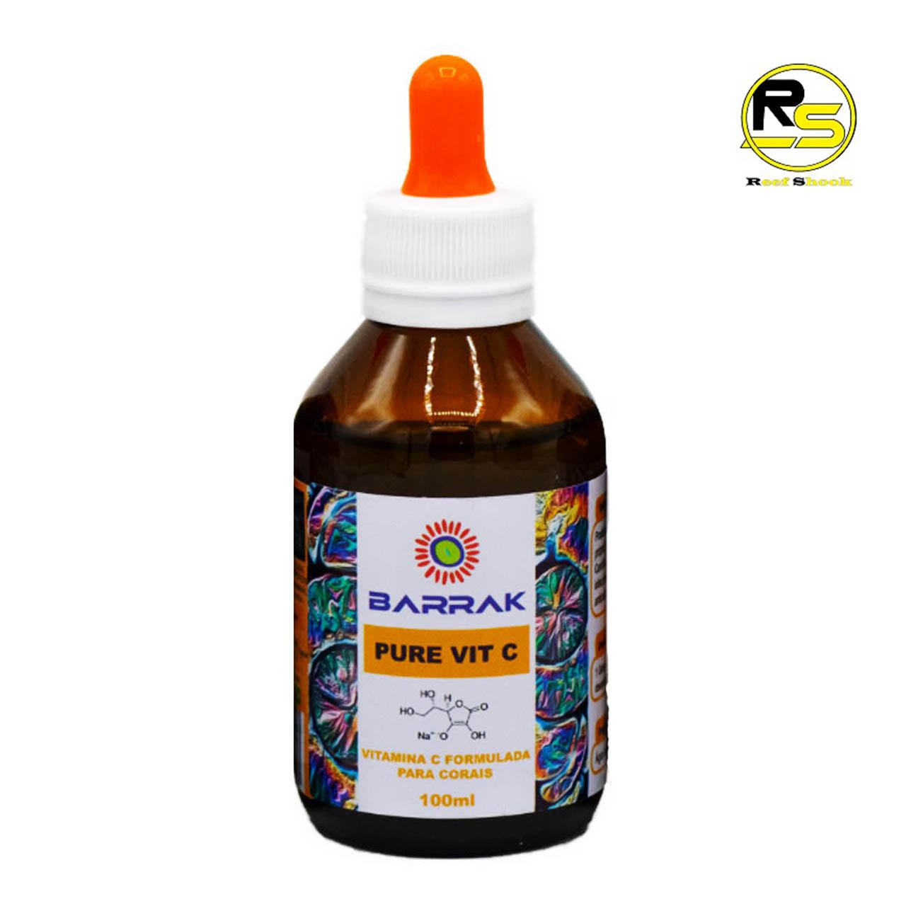 Pure Vit C Antioxidantes e Vitamina C Barrak 100ml