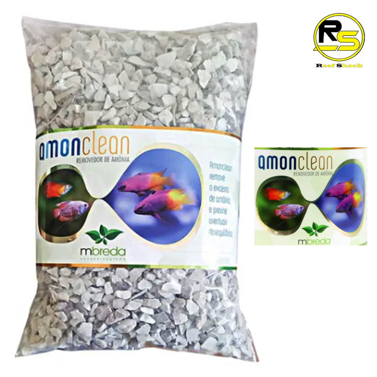 Removedor de Amonia Mbreda Amonclean 1kg Refil