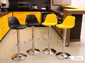 Banqueta Eames - 2 unidades