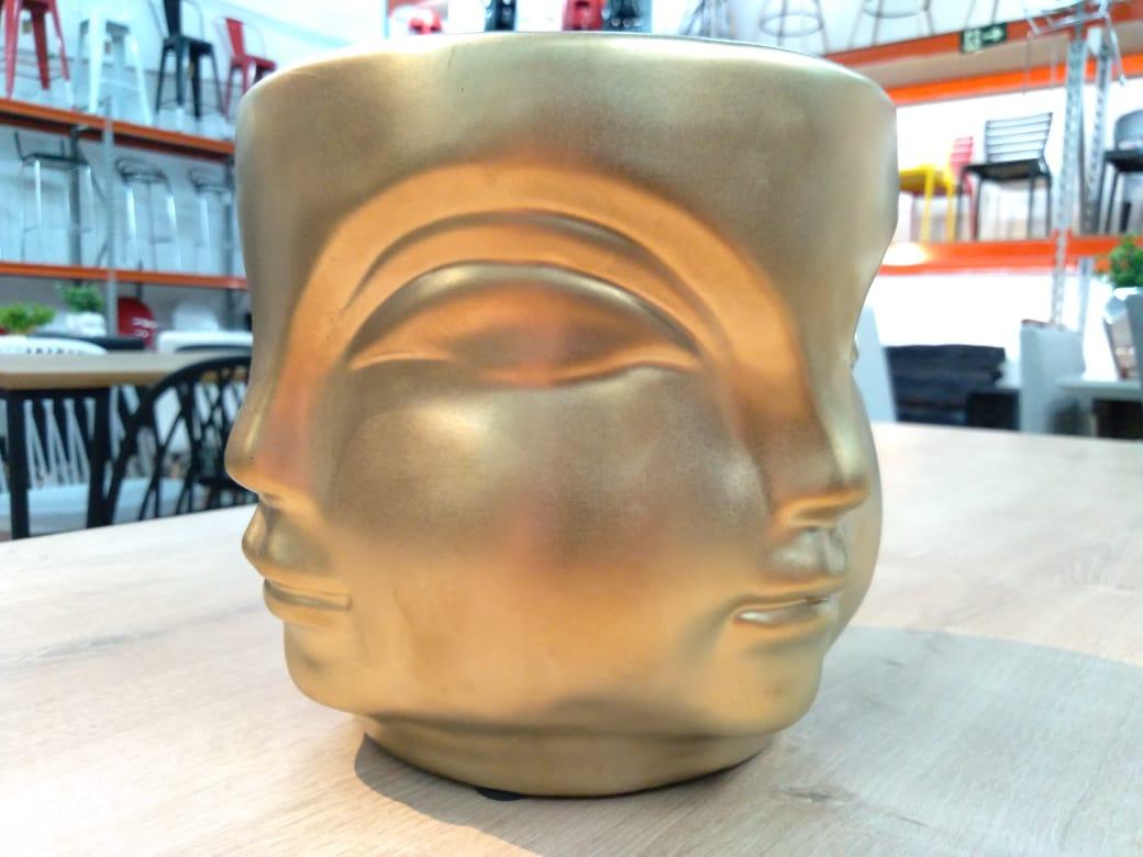 Cachepot ceramica 3D G