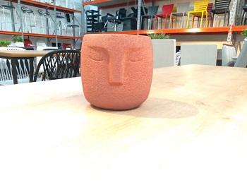 Cachepot em cimento 10cm