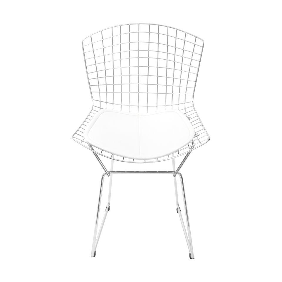 Cadeira Bertoia cromada - or design