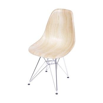 Cadeira eames base cromada