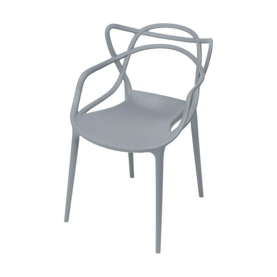 Cadeira Solna Cinza - Or design