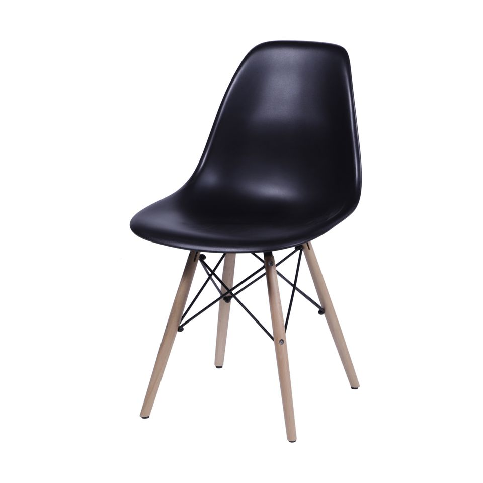 Kit 2 cadeiras Charles Eames eiffel - Or design