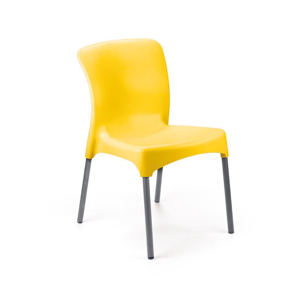 Kit 4 Cadeira em Polipropileno