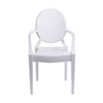 Kit 4 Cadeira em policarbonato Wind