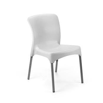 Kit 4 Cadeira em Polipropileno sem braço