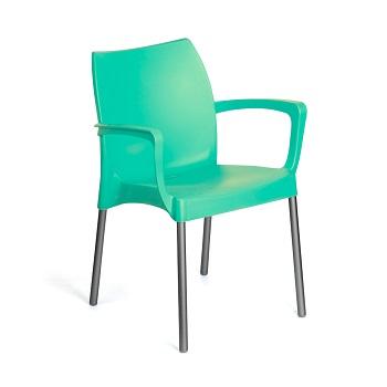 Kit 4 cadeiras com braço em polipropileno