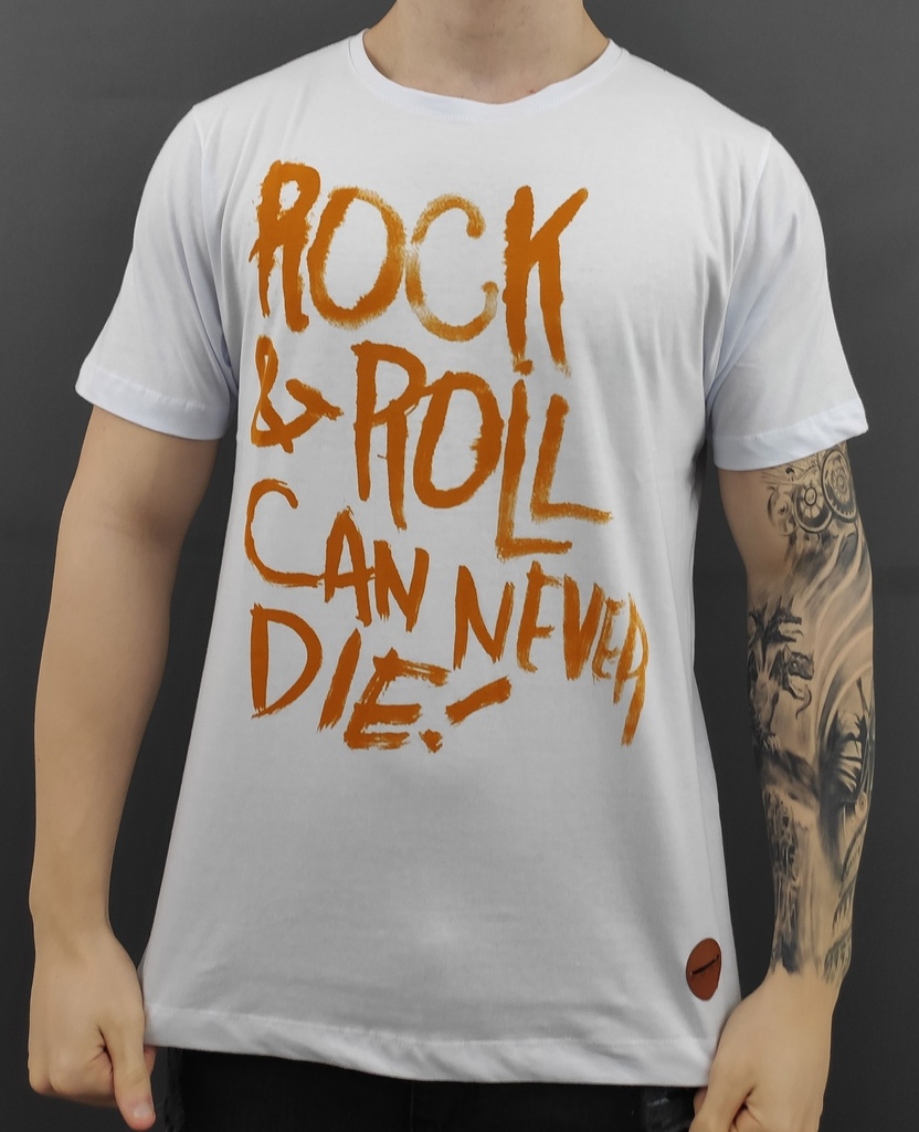 CAMISETA ROCK AND ROLL CAN NEVER DIE