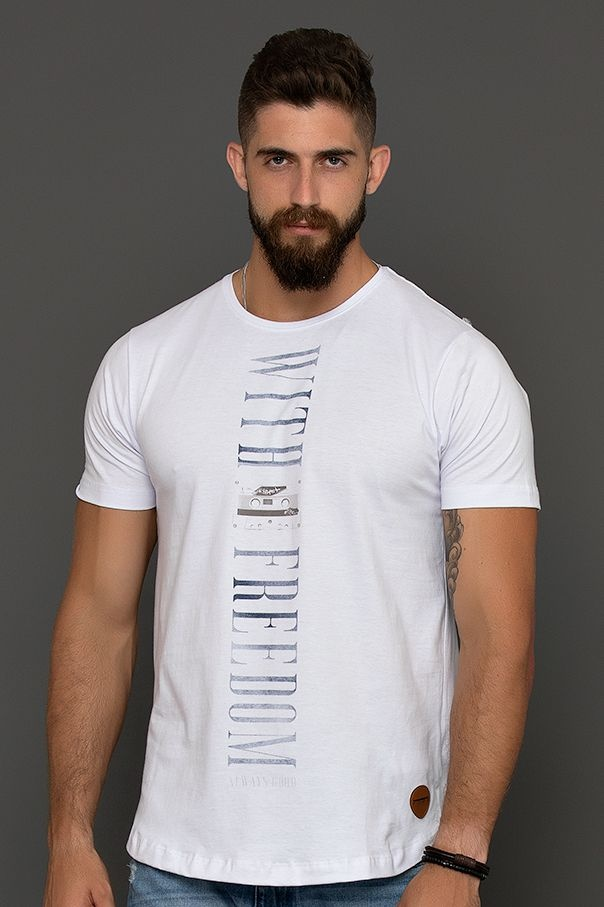 T-SHIRT WITH FREEDOM