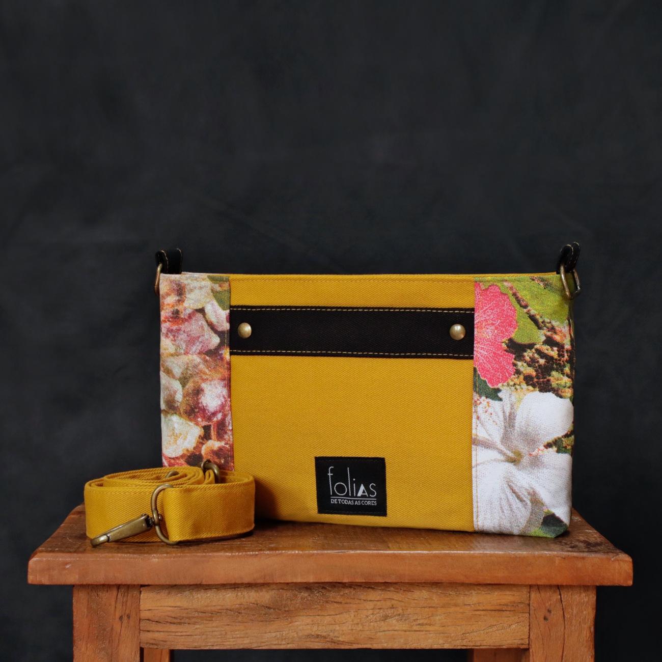 Bolsa Miúda Amarelo Mostarda