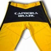 Calça de Capoeira Amarela e Preta
