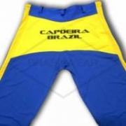 Calça de Capoeira Azul e Amarela