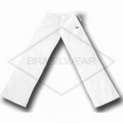 Calça de Capoeira Branca Abada