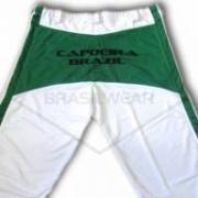 Calça de Capoeira Branca e Verde