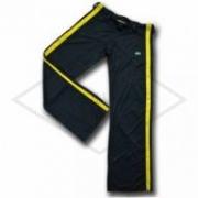 Calça de Capoeira Preta e Amarela