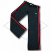 Calça de Capoeira Preta e Vermelha