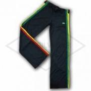 Calça de Capoeira Reggae Jamaica Preta