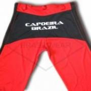 Calça de Capoeira Vermelha e Preta