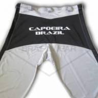 Calça de Capoeira Cinza e Preta