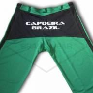 Calça de Capoeira Verde e Preta  - Brasilwear