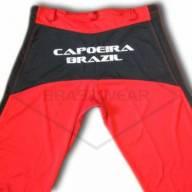 Calça de Capoeira Vermelha e Preta  - Brasilwear