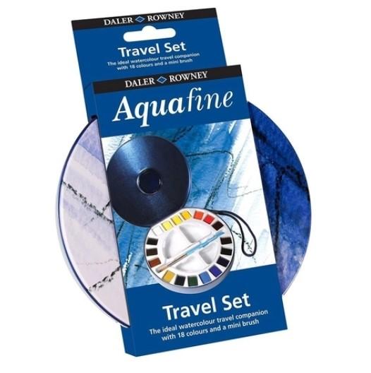 Aquarela pastilha Aquafine Daler Rowney 18 cores - Lata
