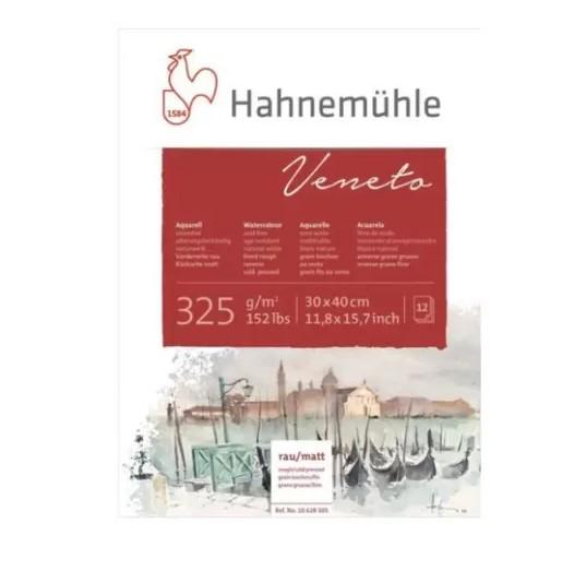 Bloco Hahnemühle Veneto Watercolour 325g - 12Fls 30x40cm