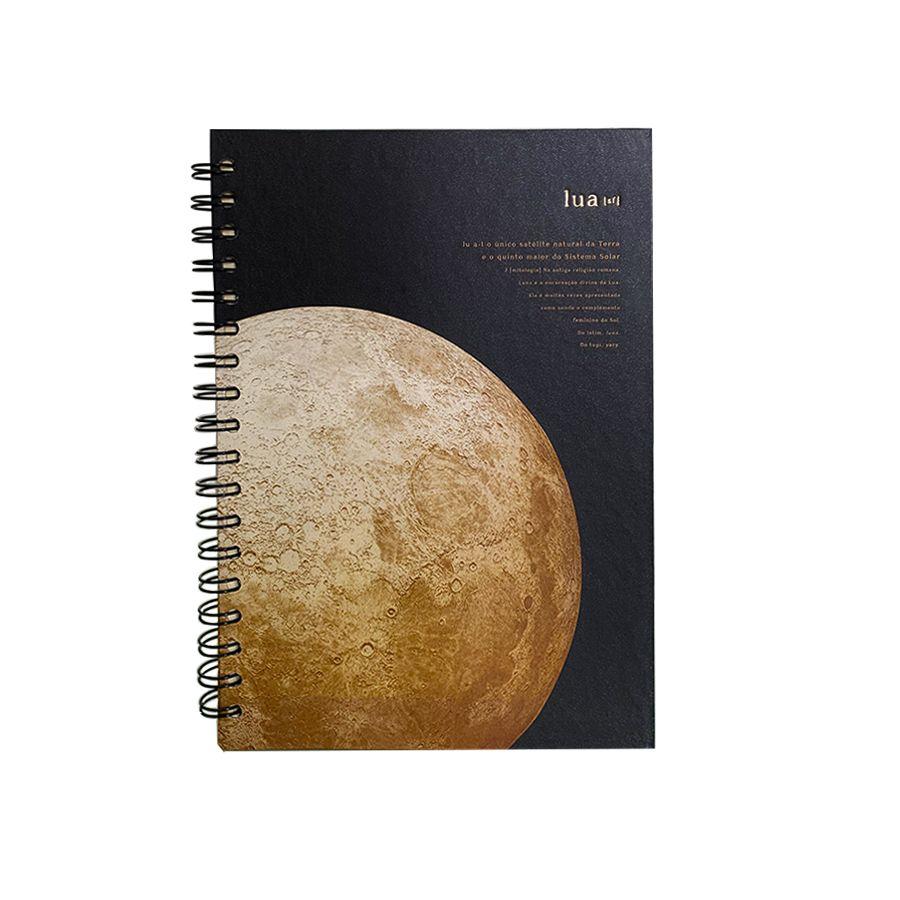Caderno Colegial Teca- Lua Dourada 96fls