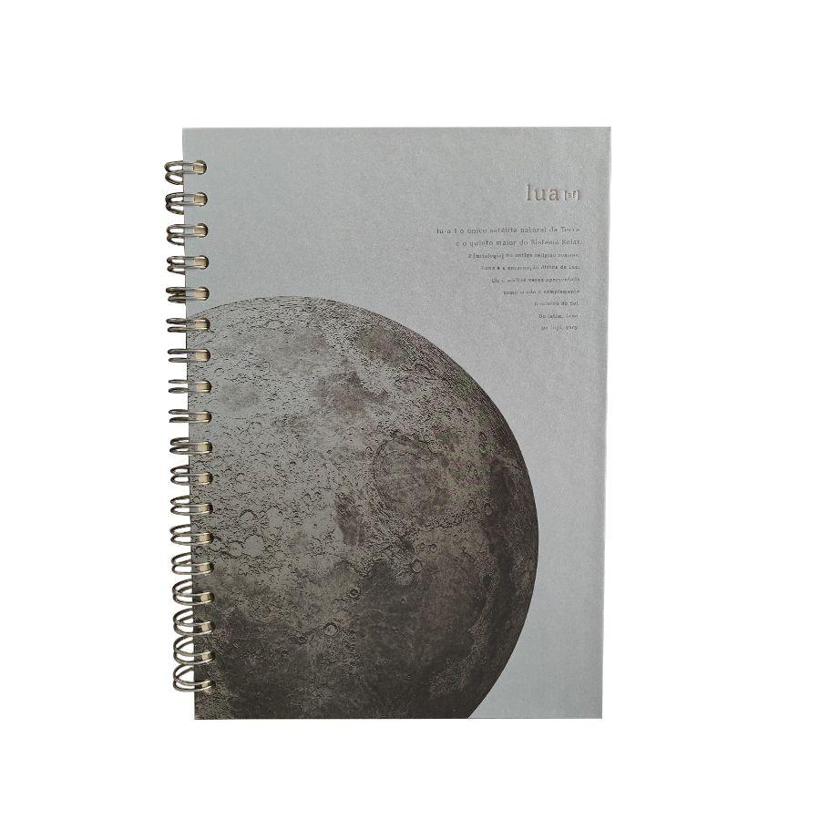 Caderno Colegial Teca- Lua Prateada 96fls