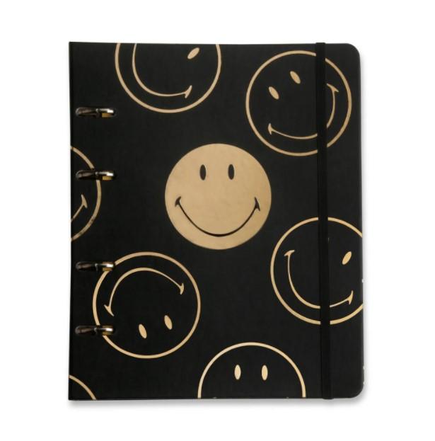 Caderno Criativo Argolado Smiley Cícero - 17 cm x 24 cm