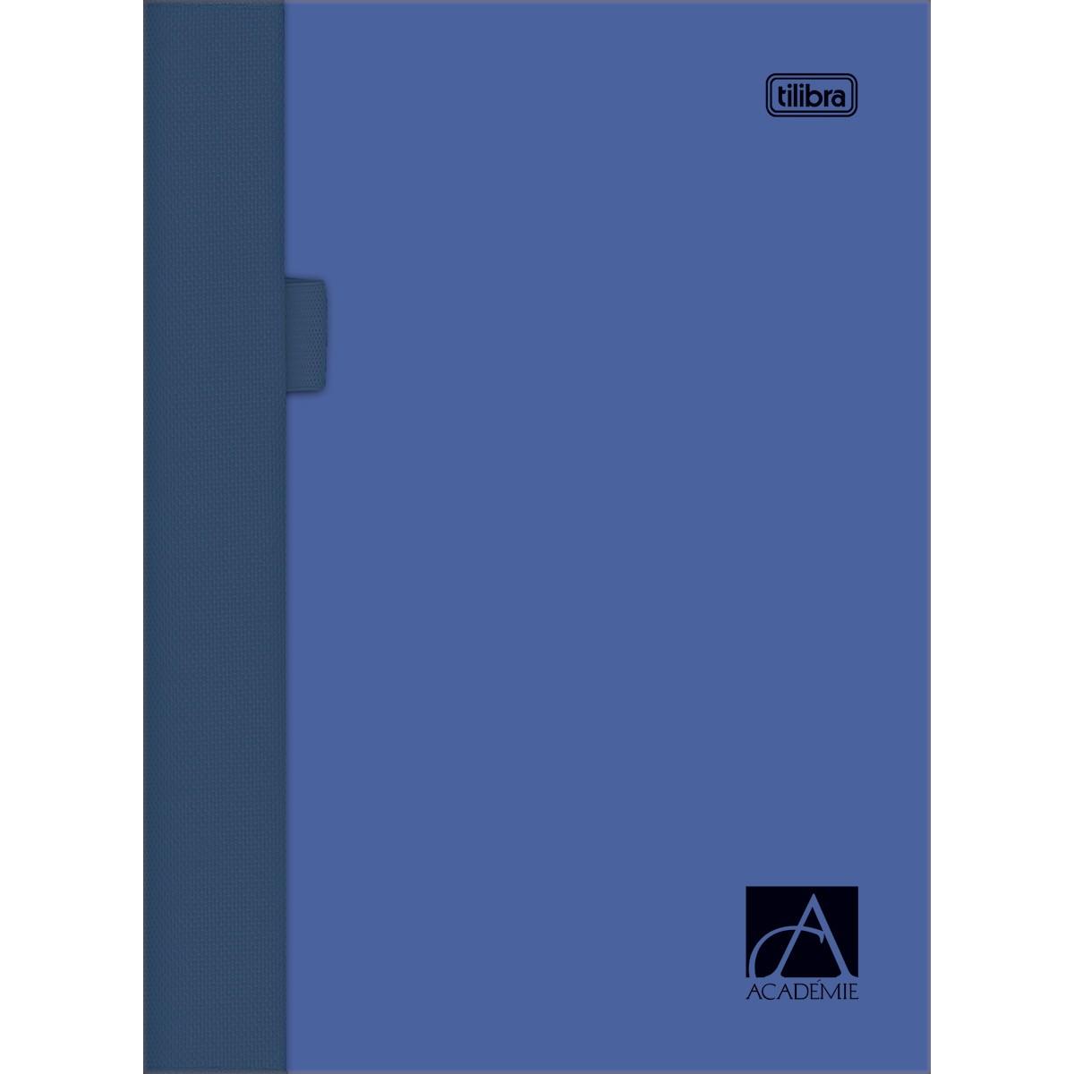 Caderno Sketchbook Espiral Capa Plástica Académie Sense 128g 70 Folhas 21,5 x 27,5 cm