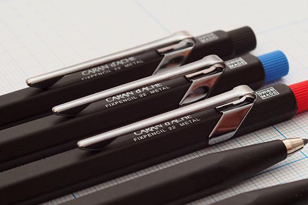 Lapiseira Caran D'Ache Fixpencil Metal 2.0mm