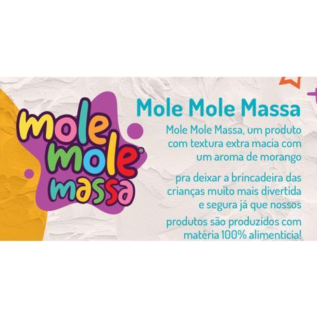 Massinha de Brincar Mole Mole Dr. Bhorest- Roxa