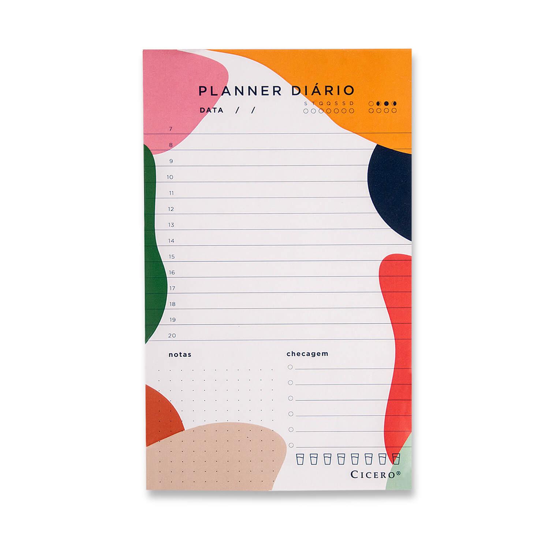 Planner Diario- Cicero Esquema 12x20