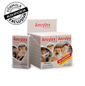 Anti-helmíntico Ancylex - 4 Comprimidos