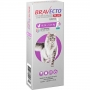 Antipulgas MSD Bravecto Transdermal Plus para Gatos de 6,25 a 12,5 Kg - 1 Pipeta 500 mg