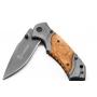 Browning Canivete em aço inoxidável - Empunhadura em madeira 20 cm X49