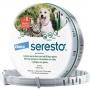 Coleira Antipulgas e Carrapatos Bayer Seresto - Cães e Gatos até 8 Kg