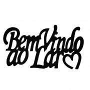 ENFEITE BEM VINDO MADEIRA 34X20CM GDR0403