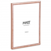PORTA RETRATO ROSE GOLD EM METAL 15X20CM 12526