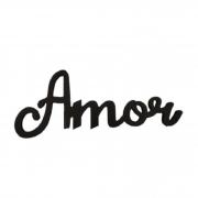 QUADRO DE MADEIRA LOVE AMOR 30X12CM GDR0635