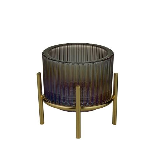 CASTICAL VIDRO ROXO 10x10cm 61163